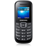 Samsung Guru GT E1200T  Black  Mobile Phone