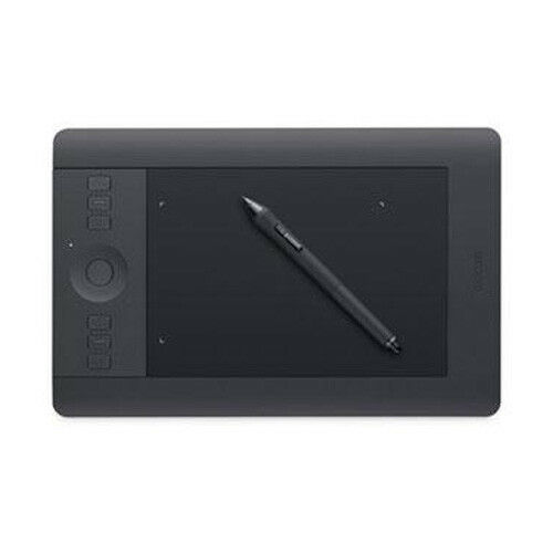 Wacom Intuos Art CTH 490 Pen & Touch Digital Graphic Drawing Tablet Pad  2048 Pressure Levels Small Size Black / Blue Colors -in Digital Tablets  from ...