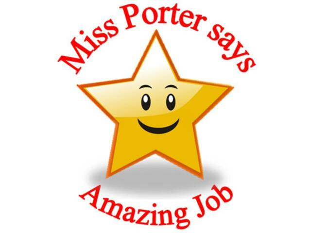 70 personalised reward stickers teachers star amazing 3 for 2 sticker 112