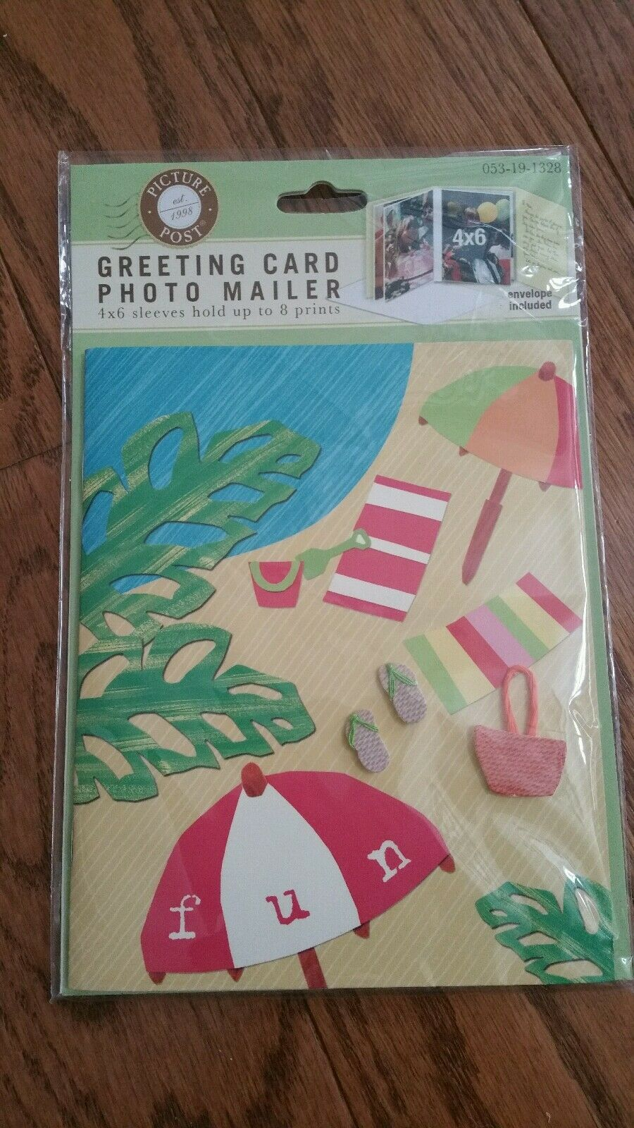 Greeting Card Photo Mailer Holds Up To 8 4x6 Prints Ebay