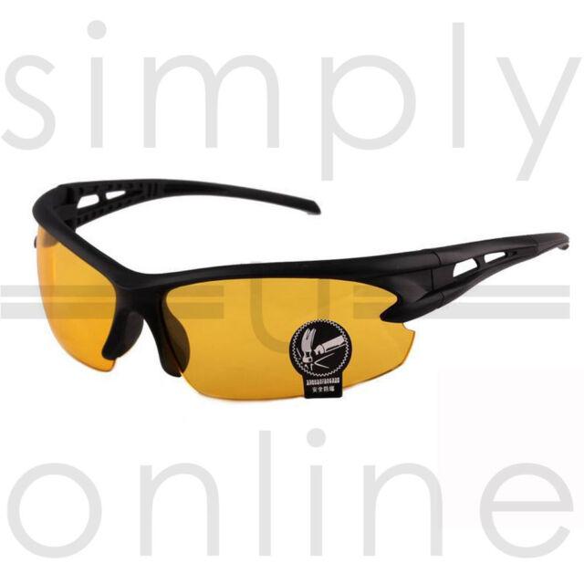 Night Driving Anti Glare Vision HD Glasses Prevention Yellow Driver Sunglasses