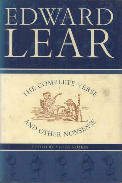 The Complete Verse And Other Nonsense(Hardback Book)Edward Lear-Peng-Good