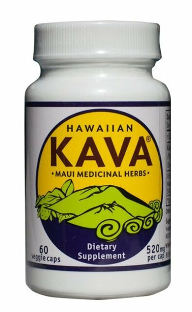 Hawaiian Kava® 520 mg 60 vcaps by Maui Medicinal