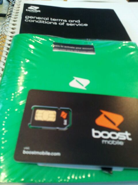 activate boost mobile phone number