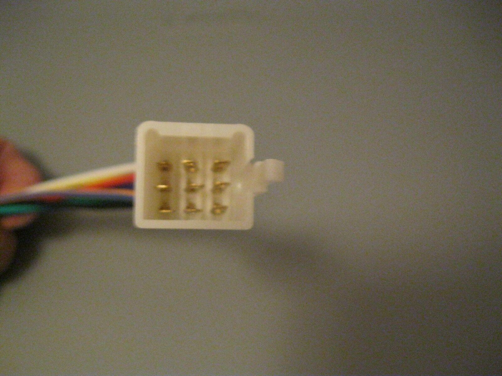s l1600 kubota rtv 9 pin radio tractor plug female male cd player in dash kubota radio wiring harness at mr168.co