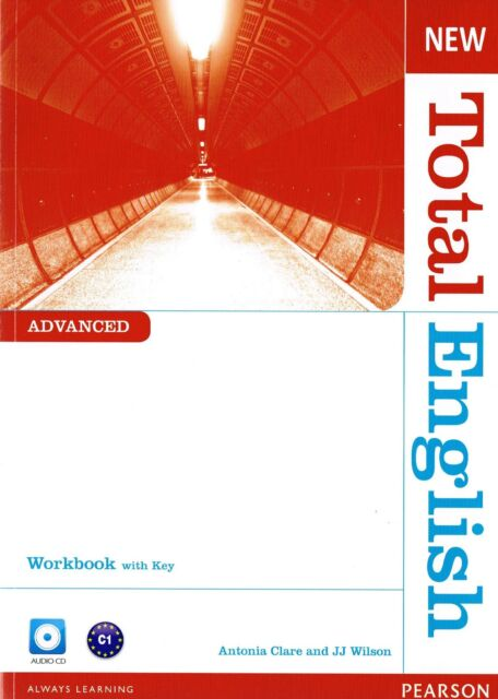 Pearson NEW TOTAL ENGLISH Advanced C1 WORKBOOK with Answer Key & Audio CD @NEW@
