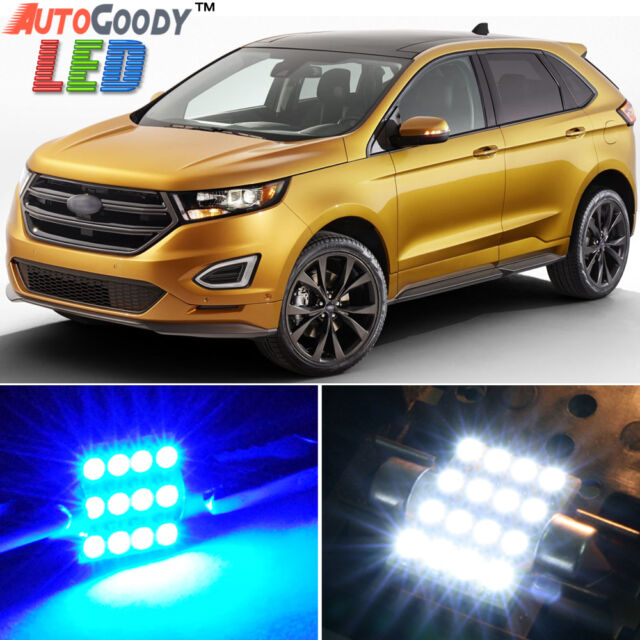 X Premium Blue Led Lights Interior Package For Ford Edge   Tool