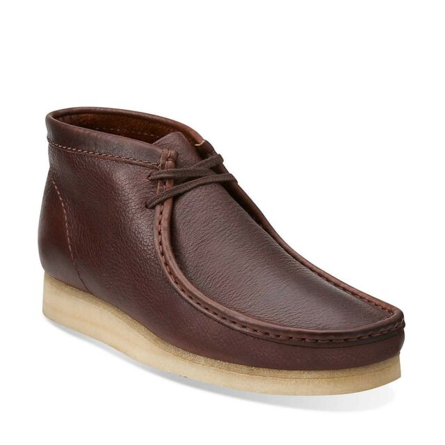 Clarks Originals Men's Wallabee Boot Core Brown Tumble Leather Style 03668