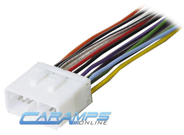 Subaru Car Stereo Wiring Harness Wire Adapter Plug Swh-924 Scosche