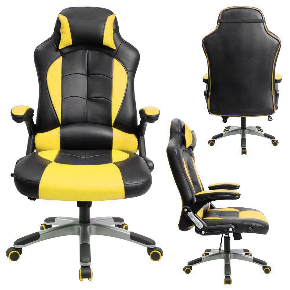 Gaming Chair Highback Computer Chair Ergonomic Design Racing