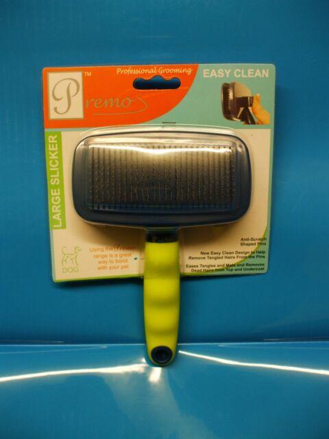 Premo Professional Dog Grooming Large Slicker Brush Easy Clean
