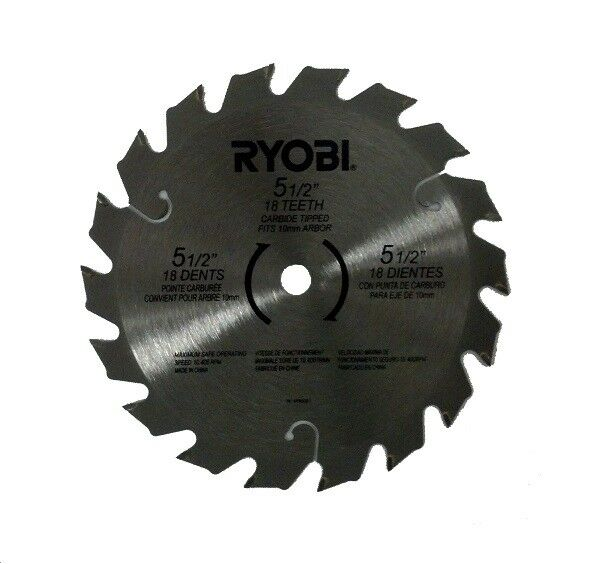 5 12 saw blade ebay ryobi 18v 18 volt p500 p501 p501g 5 12 carbide tipped circular saw blade new greentooth Choice Image