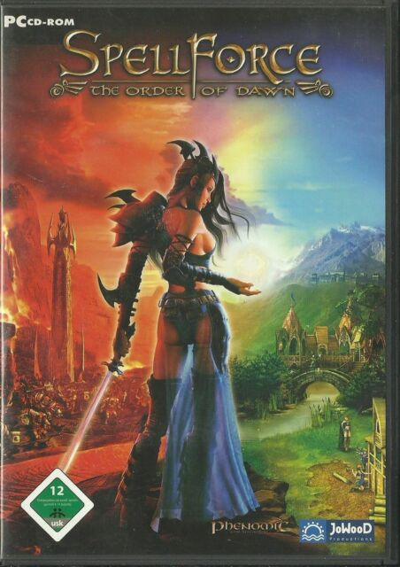 SpellForce: The Order Of Dawn (PC, 2003, Eurobox)