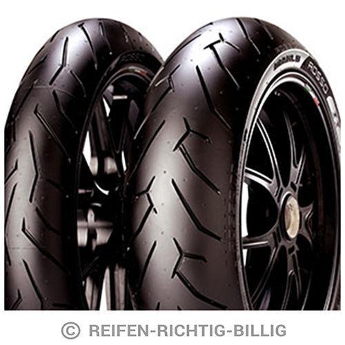 Pirelli Motorradreifen 140/70 R17 66H Diablo Rosso II Rear M/C