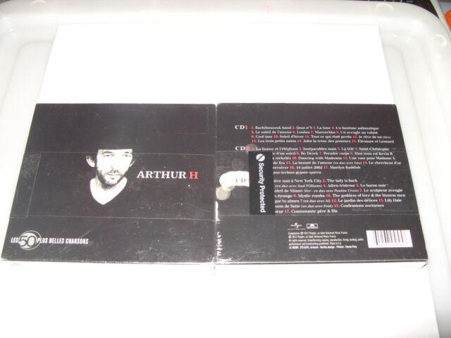 Arthur H Les 50 Plus Belles Chansons 3 cd  2012 49 Tracks Digi  New & Seal