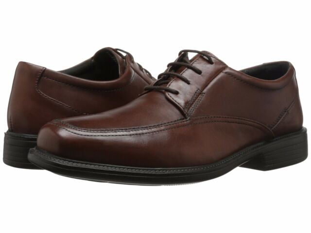 NEW BOSTONIAN LITES by CLARKS MEN'S IPSWICH OXFORD LEATHER SHOES BROWN SIZE  11