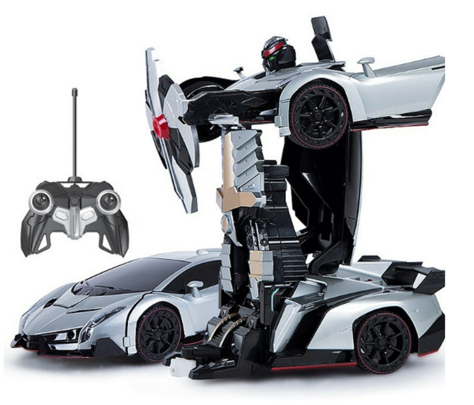 mz transformers 2333x lockdown rc ir 8 toy robot car bumblebee