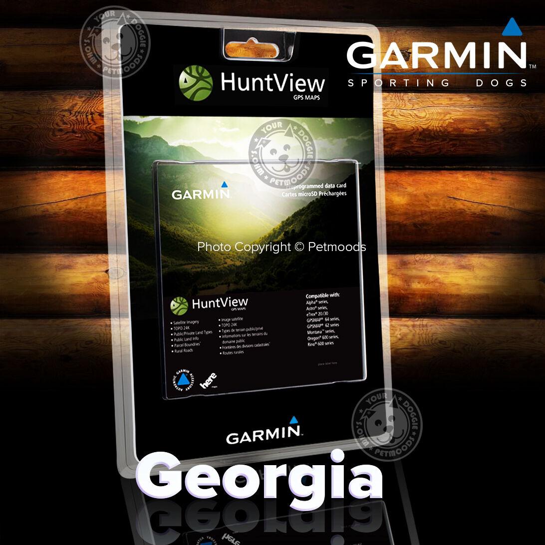 Garmin Huntview Georgia SD Card Map Birdseye K Topo Landowner - Georgia map garmin