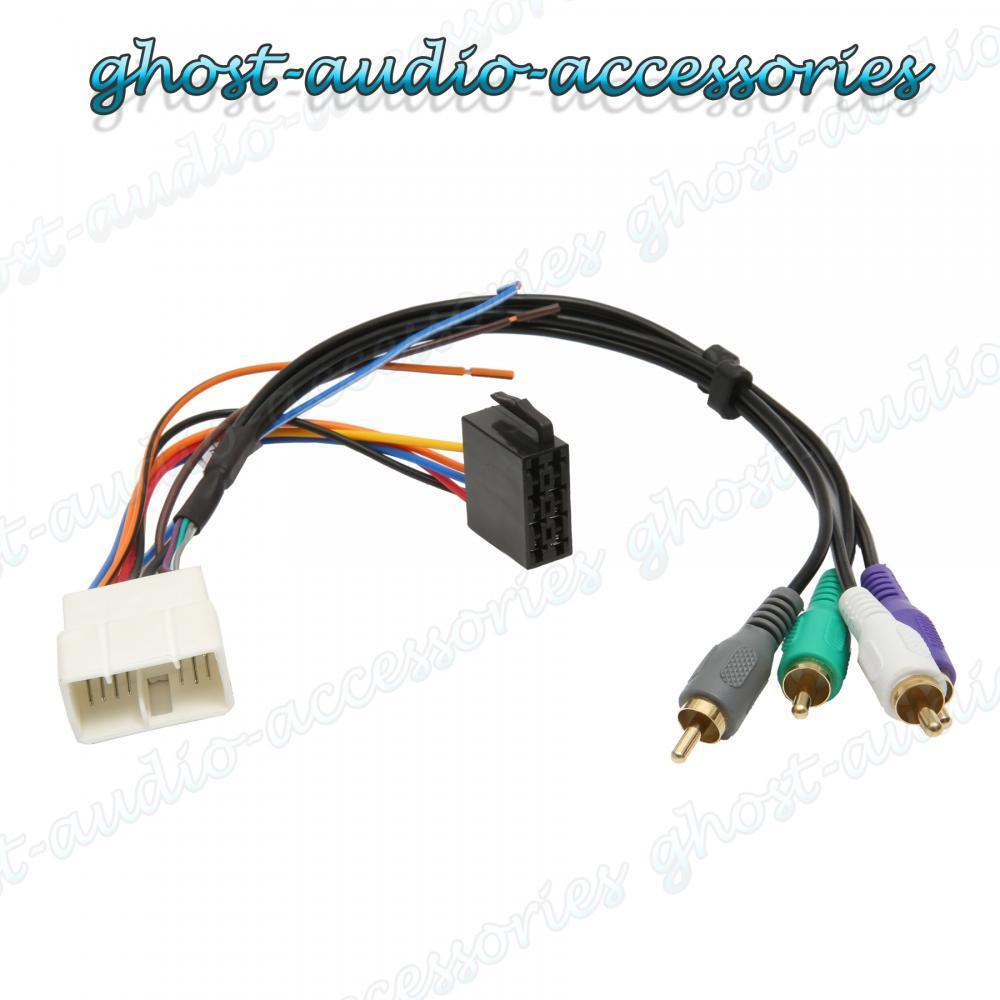 Mr2 Wiring Harness Private Sharing About Diagram Toyota Active Amplified Car Stereo Radio Iso Rh Ebay Com Mk1