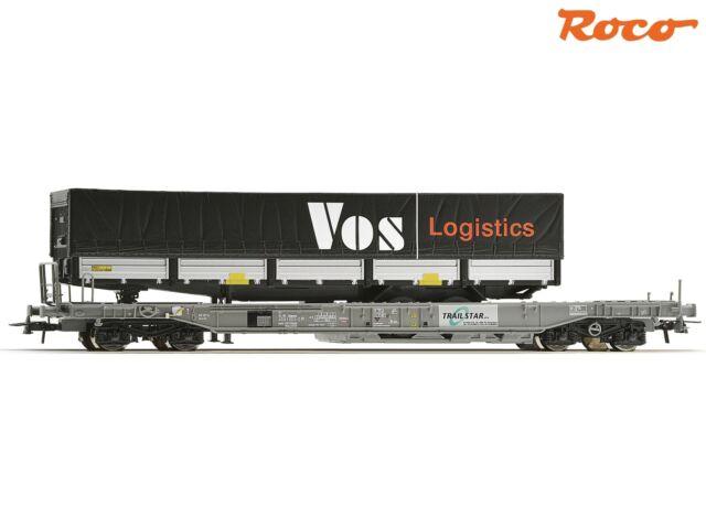 """Roco 67523 Einheitstaschenwagen """"VOS Logistics"""" Spur H0 ++ NEU & OVP ++"""