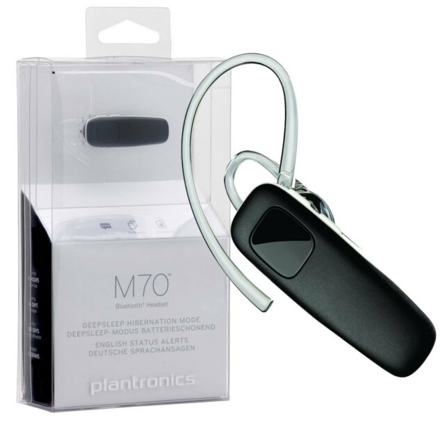 Plantronics Original M70 Bluetooth 3.0 Headset,Multipoint, Galaxy S4,S5,Note 4