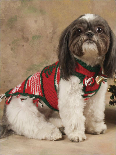 Christmas Dog Coat Knitting Pattern 99p Ebay