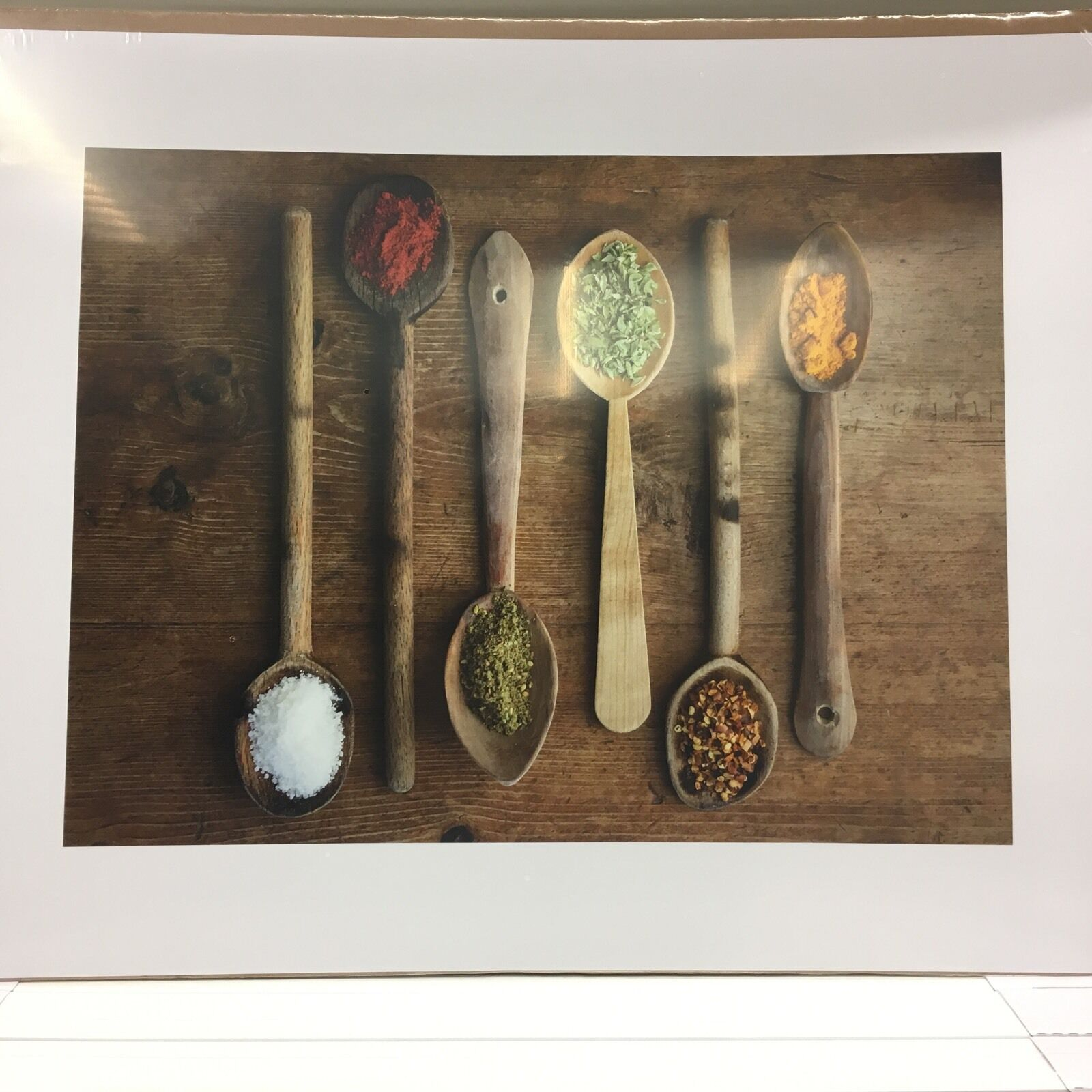 Spices of The World Poster IKEA Coffee Decor Style Custom Original