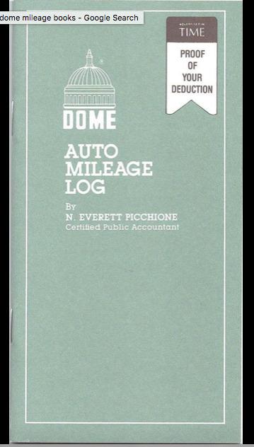 auto milage log