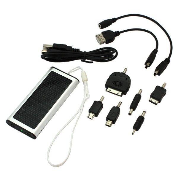 digibuddy Powerbank externer Akku Solarpanel für Sony xperia Z5 Premium 8004978