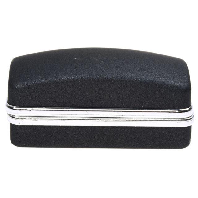 Black luxury cufflink cuff fake gift box cuboid link C8E7