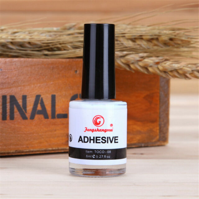 Nail Art Transfer Tips 1pcs Pro Adhesive White Glue for Galaxy Star ...