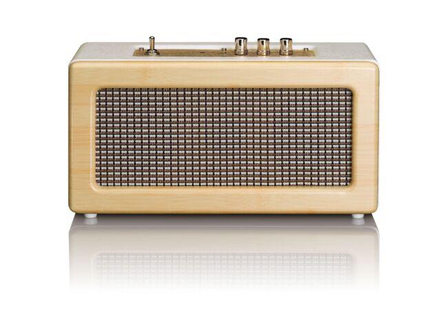 LENCO BT 300 OAK Bluetooth Lautsprecher Ausgangsleistung 20 Watt (RMS)