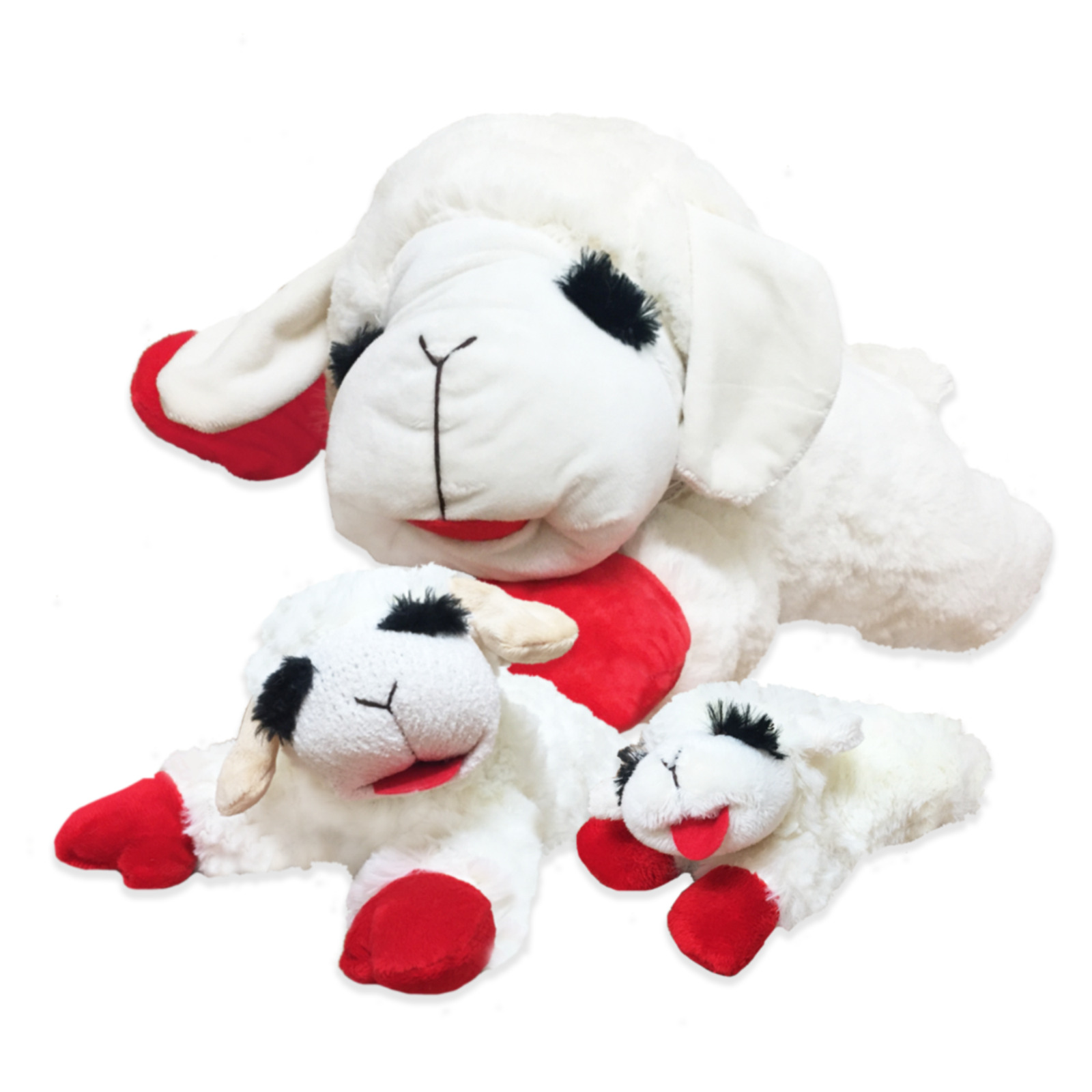 Multipet Lamb CHOP 6 in Dog Toy
