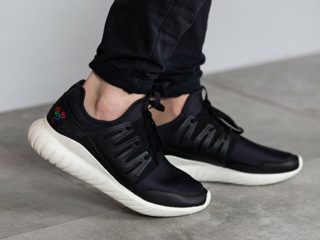 NEW MENS ADIDAS TUBULAR RADIAL CNY BA7780 SNEAKERS-SHOES-SIZE 10