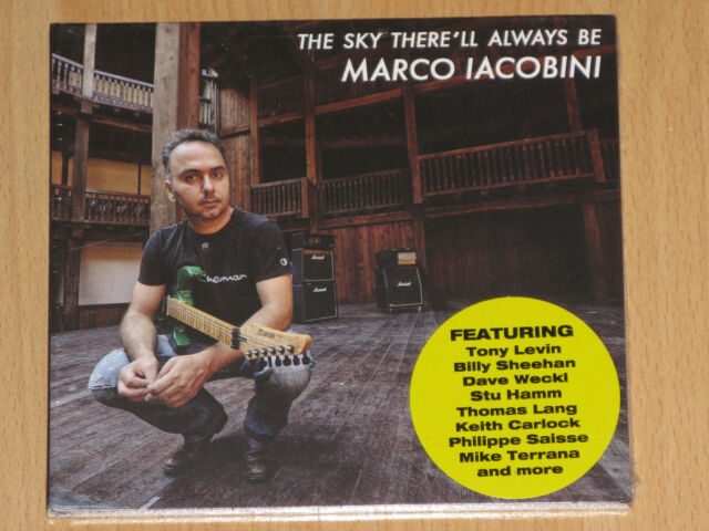 MARCO IACOBINI - THE SKY THERE'LL ALWAYS BE - TONY LEVIN - DAVE WECKL - NEU+OVP