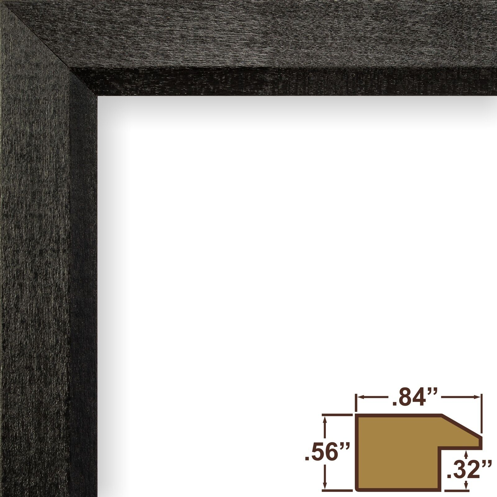 Craig frames economy black simple hardwood picture frame 1 single picture 1 of 12 jeuxipadfo Choice Image