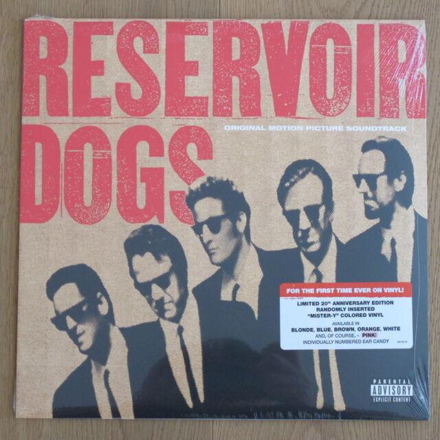 RESERVOIR DOGS **Soundtrack**colored Vinyl-LP**individual Number**NEW**