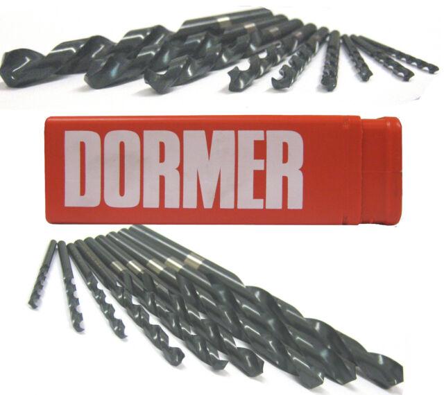 DORMER A100 HSS JOBBER DRILLS DRILL BITS FOR STEEL / METAL 0.2MM TO 1MM METRIC