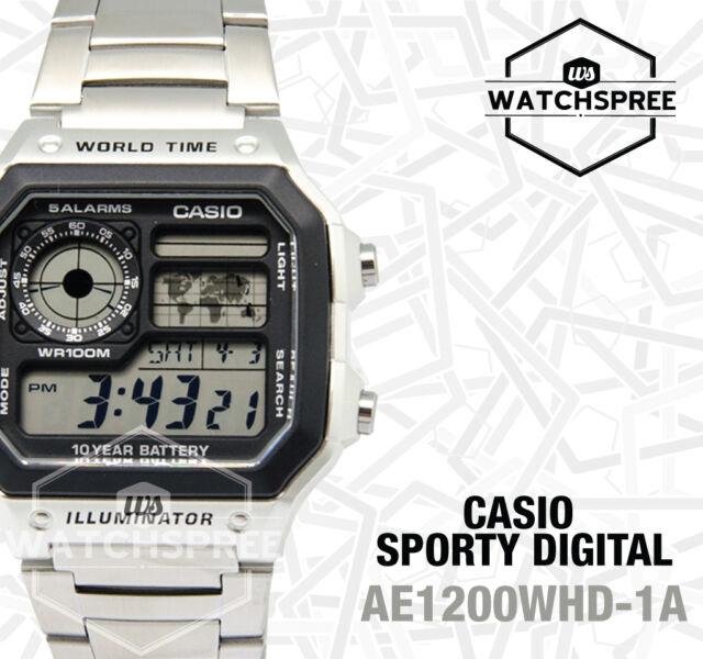Casio Standard Digital Watch AE1200WHD-1A FREE AU EXPRESS