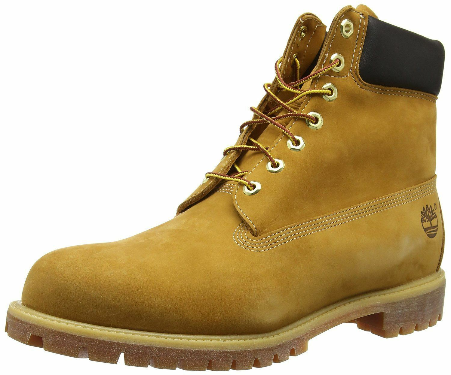 Winter New MensGents Wheat Nubuck Timberland Premium Leather Fashion Boots  Wheat Nubuck  UK