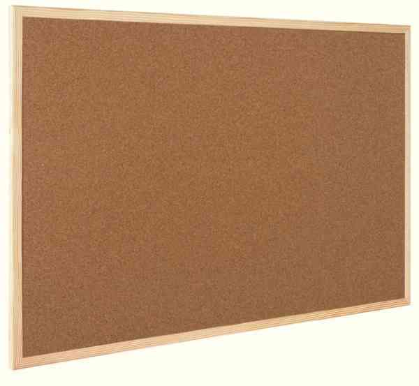 CORK BOARD PINE BEAD FRAMED PIN PINBOARD NOTICEBOARD NEXT DAY DELIVERY