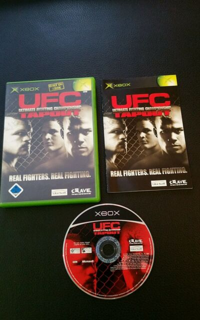 UFC Ultimate Fighting Championship: Tapout (Microsoft Xbox DVD-Box) Spiel selten