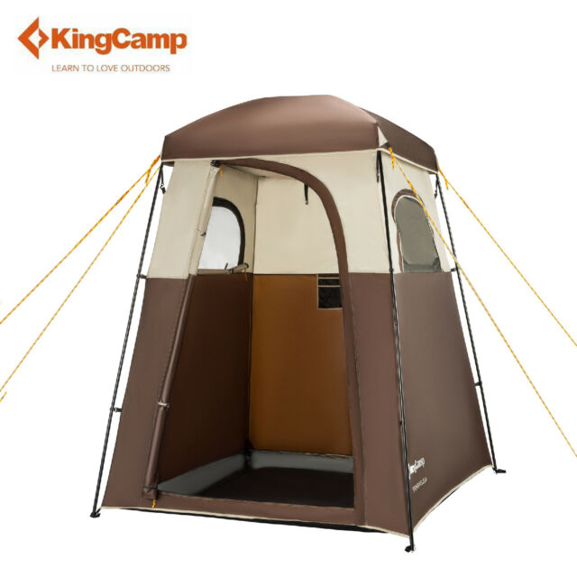 Picture 13 of 13  sc 1 st  eBay & KingCamp Oversize Outdoor Easy up Portable Dressing Changing Room ...