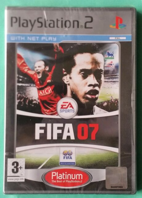 FIFA 07 PS2 PLATINUM FOOTBALL GAME brand new & SONY sealed UK PLAYSTATION 2