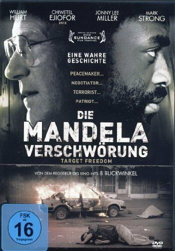 DVD/ Die Mandela Verschwörung - Target Freedom - William Hurt !! NEU&OVP !!