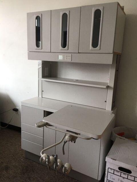 Adec 5580 12 O'clock Treatment Console Dental Cabinet | eBay