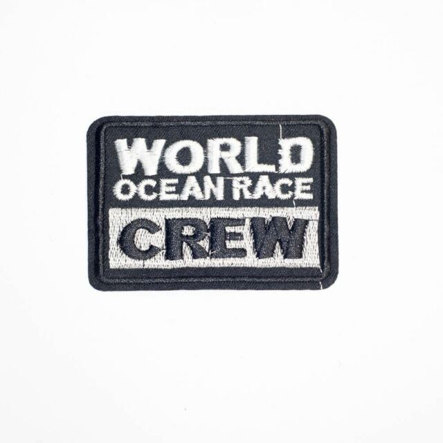 World Crew Ocean Race (Iron On) Embroidery Applique Patch Sew Iron Badge