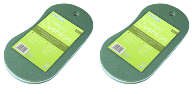 Pack of 2 x Gardman Kneeler Cushion - Garden Knee Protection mat  Kneeling Board