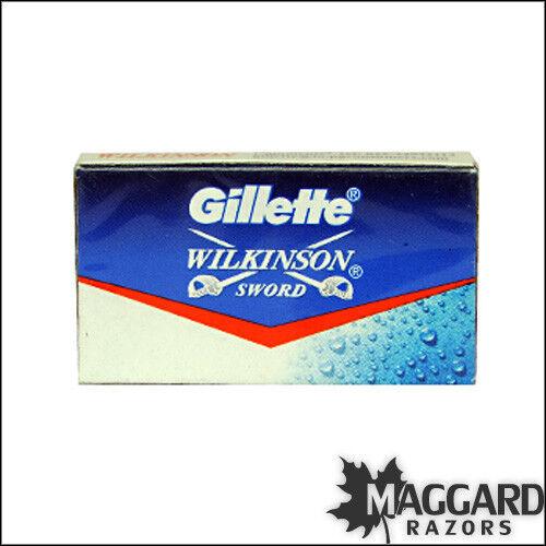 200x GILLETTE WILKINSON SWORD RAZOR BLADES double edge safety razor blade