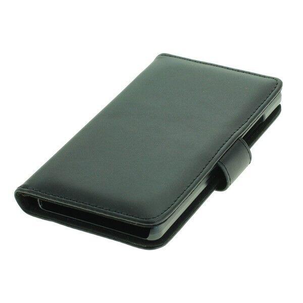 Bookstyle Tasche (Kunstleder) für Huawei P8 Lite schwarz Etui Case Hülle 8010103